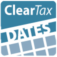 Clear Tax dates